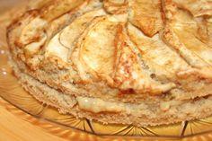 TORTA DI MELE CON CREMA PASTICCERA ALLA VANIGLIA - Vegan Cucina Felice