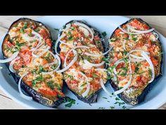 So duftend, dass alle Nachbarn nach dem Rezept fragten! Ein köstliches Auberginen Rezept - YouTube Veggie Recipes, Keto Recipes, Vegetarian Recipes, Dinner Recipes, Cooking Recipes, Vegetable Chips, Easy Homemade Recipes, Eggplant Recipes, Healthy Vegetables