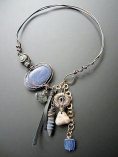 blue gypsy choker