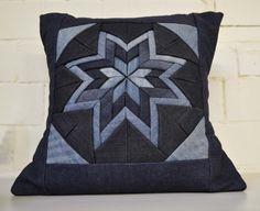 Handmade Denim Blue Jeans Origami Folded Scatter by IndigoArtisans