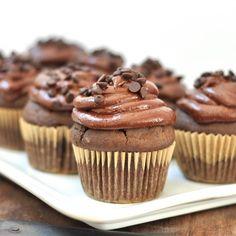 Ka'Chava Chocolate Cupcakes. Check out the recipe at www.gmofreegirl.com!
