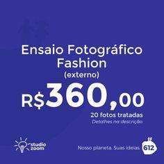 Ensaio Fotográfico Fashion com a Studio Zoom 612