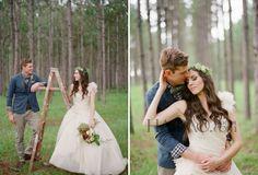 【最新图片】田园风格户外婚礼:在大自然的怀抱中体验最古朴的结婚仪式,牵手迈向幸福新生活!_图2_海报时尚网图片库