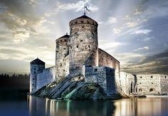 Olavinlinna Castle, Savolinna .Fascinating Finland  http://www.travelandtransitions.com/destinations/destination-advice/europe/ .