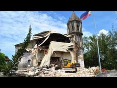 Boho Island Philippines - 7.2 earthquake more than 100 people killed