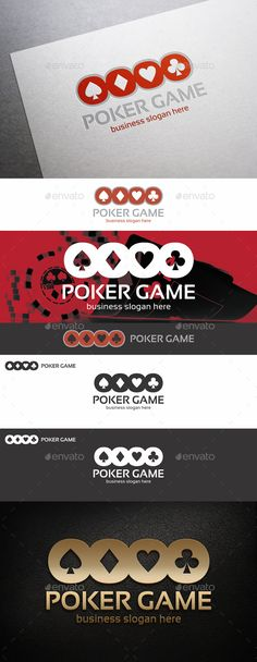 Poker Game Logo — Vector EPS #modern #casino • Available here → https://graphicriver.net/item/poker-game-logo/9311748?ref=pxcr