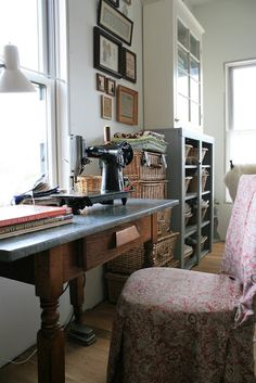 Homespun Living In The New Workroom