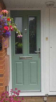 Chartwell green composite door from .xtremedoor.co.uk & Perfecta Windows - Weston Super Mare Composite Door in chartwell ...