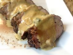 Coffee Rubbed Pork w/ Dijon Cream Sauce + wine pairings. Coffee loves cream, right? Click through to to the #recipe..thank me later :)