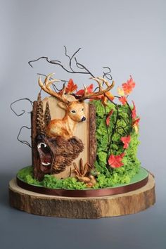Hunting cake by tomima Cake decorating ideas