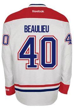 David Desharnais Montreal Canadiens Reebok Premier Away Jersey NHL Replica Nhl Hockey Jerseys, Hockey Mom, Hockey Players, Montreal Canadiens, Reebok, Henri Richard, Patrick Roy