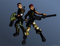 Hudson & Vasquez - Aliens - Kris Smith