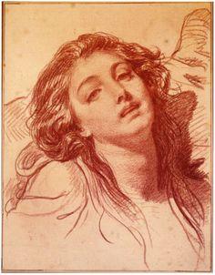 Sanguine par Jean Baptiste Greuze