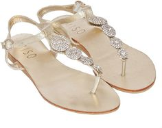 Miso Bling Toe Post Sandals