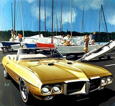 1969 Pontiac Firebird 400 Convertible - 'Sailors, IHYC': Art Fitzpatrick and Van Kaufman