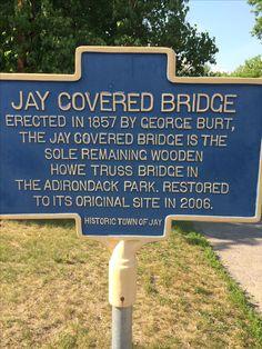 Adirondacks Ny, Adirondack Park, Covered Bridges, Restoration, The Originals, Covered Decks