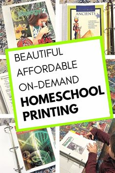 Beautiful, affordable, on-demand homeschool printing by Family Nest Printing. Check out our post for a full review and special discount code! #ad #homeschool #homeschoolcurriculum Homeschool Curriculum, Homeschooling, Resource Room, Business Presentation, Lessons For Kids, Mom Quotes, Science Projects, My Teacher, Nest