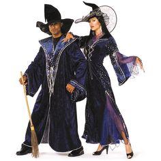 Damen-Kostüm Zauberin, Kleid, Gr. 42 €