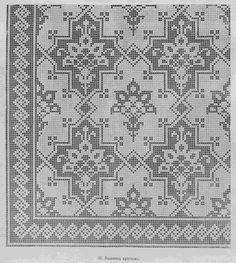 "ru / Photo # 51 - Scheme of the journal ""Bulletin of fashion"" - natashakon Russian Embroidery, Cross Stitch Embroidery, Embroidery Patterns, Cross Stitch Patterns, Thread Crochet, Filet Crochet, Crochet Butterfly, Crochet Curtains, Cross Stitch Boards"