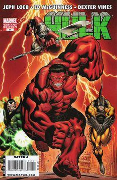 Hulk # 11 (Variant) by Ed McGuinness & Dexter Vines