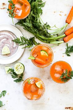 Celebrate Spring and Summer with these Smoky Carrot Mezcal Margaritas. Perfect for Easter, Mother's Day or Cinco de Mayo! Margarita Recipes, Cocktail Recipes, Cocktail List, Drink Recipes, Mezcal Margarita, Mezcal Cocktails, Tequila Drinks, Easy Delicious Recipes, Great Recipes