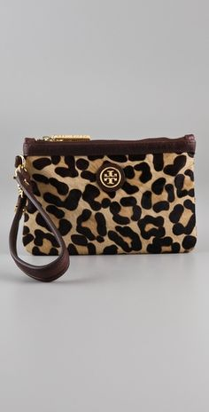Tory Burch wristlet IF SOMEONE GOT ME THIS I WOULD CRY TEARS OF JOY