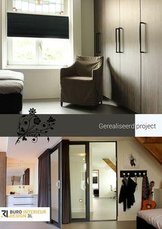 Het ontwerpen van een slaapkamer / inloopkast inclusief badkamer op ...