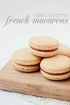 salted-caramel-french-macarons