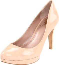 $95.91-$98.00 Vince Camuto Women's Zella Pump,Petal Nubuck Patent,7.5 M US - You'll look pretty and polished in patent when you step out in the Vince Camuto Zella pumps.Patent leather upper in a dress pump style with a rounded toeSmooth lining and cushioned footbed1/2 inch platform midsoleStitched traction outsole3 1/2 inch heel http://www.amazon.com/dp/B005C2UYSO/?tag=icypnt-20