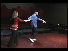 Nightclub 2-Step, Ari Levitt & Jodi Fleischman (Seattle, Nov 2009)