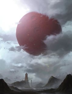 Red Moon, Yongsub Noh (YONG) on ArtStation at http://www.artstation.com/artwork/red-moon-ed41879a-df0b-4663-bef1-fc7c073de2b8