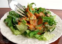 Healthier American French Dressing for Salads | An Oregon Cottage Homemade French Dressing, Whole30 Salad Dressing, Stuffed Shells With Meat, French Salad Dressings, Salad Recipes, Healthy Recipes, Raw Apple Cider Vinegar, Whole 30 Diet, Savoury Dishes