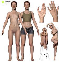 Colour Female Anatomy Bundle