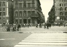 Roma Sparita - Piazza Venezia - Austerity 1973