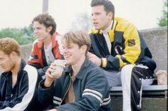 Ben Affleck, Matt Damon and Casey Affleck in Good Will Hunting