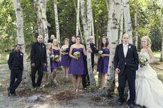 Interesting Wedding Party Photo