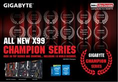 Gigabyte unveils new X99 Champion series motherboards - http://vr-zone.com/articles/gigabyte-unveils-new-x99-champion-series-motherboards/88197.html
