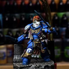 Primaris Space marine conversion WIP finally comming soooon #warhammer #warhammer40k #warhammer30k #horusheresy #primarisspacemarines #honorguard #spacemarine #ultramarine #conversion #gamesworkshop #forgeworld #newmodel #newedition #acrylicpainting #tabletopgaming