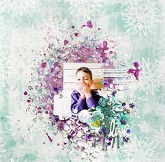 Layout by More Than Words DT member Valerie Ouellet inspired by the February WONDERFUL & SPARKLE Main Challenge. More details at http://morethanwordschallenge.blogspot.ca/2016/02/february-2016-main-challenge-wonderful.html  #morethanwords #mtwchallenge #morethanwordschallenges #mtw