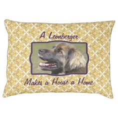 A Leonberger Makes a House a Home picture dog bed