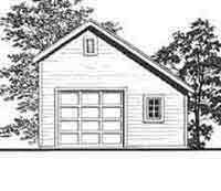 Saltbox garage with loft 24 39 x32 39 saltbox with gable for Saltbox garage plans