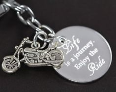 Image result for I'd rather be riding keychain