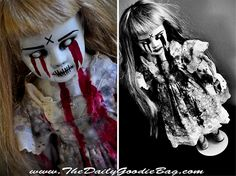 Creepy Doll - Horror Doll - Halloween scary stuff.