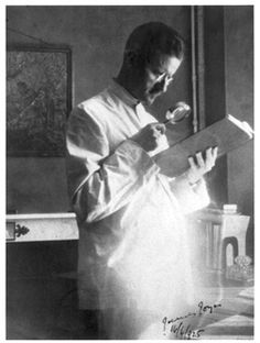 James Joyce, photograph by Sylvia Beach, Paris, Bloomsday 1925.