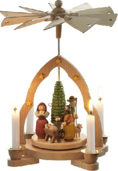 Gift ideas for all occasions. Diy Christmas Pyramid, Christmas Past, Family Christmas, All Things Christmas, Vintage Christmas, Christmas Holidays, Christmas Crafts, German Christmas Decorations, Christmas In Germany