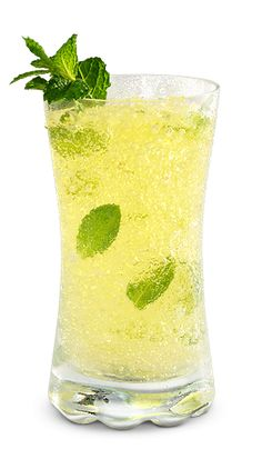 Sparkling Wine Drink Suggestions - Sparkling Mojito Ice