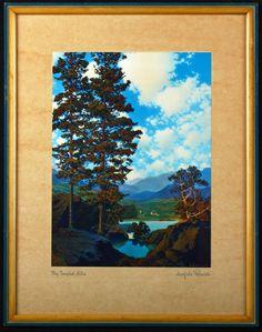 Vintage Maxfield Parrish Print