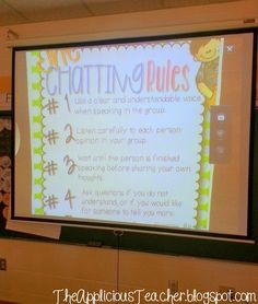 Finally a way to funnel all that talking into a positive thing in your room! Great post outlining how to get collaborative conversations going in a 2-5 classroom.