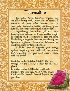 Tourmaline by minimissmelissa.deviantart.com on @deviantART