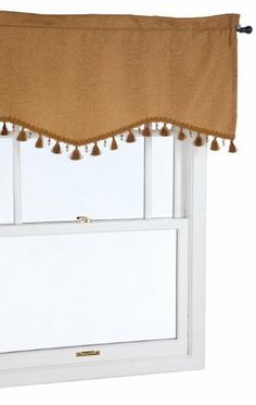 Croscill Bedford Chenille Valance, Gold by Croscill. $19.99. Valance measures 50-inch wide by 18-inch long. Coordinating panel and sheer available. Dry clean only. Luxurious textured polyester with chenille threads running through fabric. 2-Inch header above a 3-1/4-inch rod pocket. The Bedford Chenille Tailored Valance is a solid color valance with a light texture sure to liven up any home. It is best to purchase one valance for each 24-30-inch of window for custom fullne...